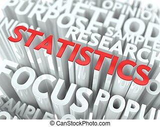 conceptuel, statistiques, fond, design.