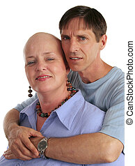Concerned Husband - A woman being treated for cancer and her...