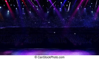 concert camera flash light