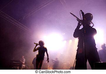 concert., faixa, fase