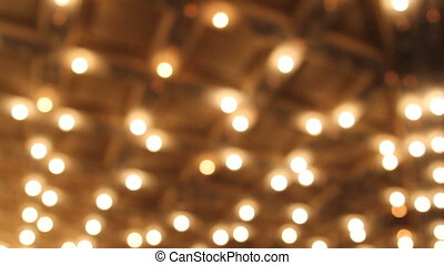 Concert Hall Ceiling Bokeh Lights