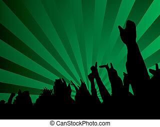 concert hands