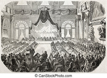 Concert in Florence - Concert offered to the Pope Pio IX in...