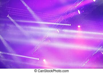 concert lighting background