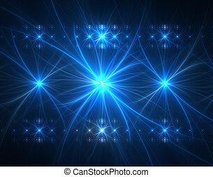 Concert Lights - fractal rendering resembling a concert...