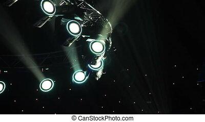 Concert lights - Lighting Equipment, Illuminated, Stage -...