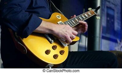 concert musique, guitares