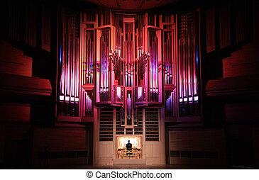 concert, orgue