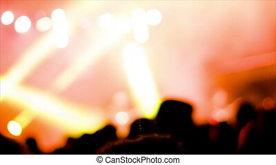 concert, rocher