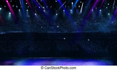 concert spotlight color mix