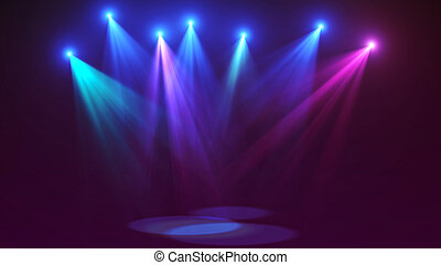 Concert stage lights (super high resolution)