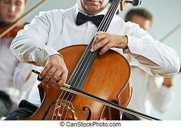 concerto música, clássico