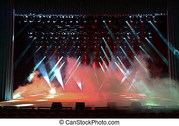 concerto, palcoscenico