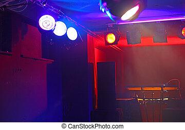 concerto, palcoscenico vuoto