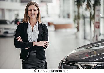 concession voiture, vendeur