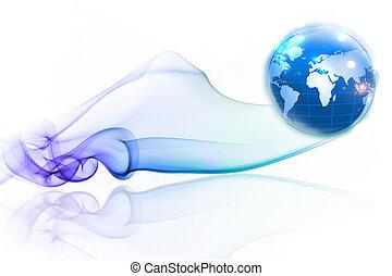 concetti, affari, internet, serie, globale, concetto