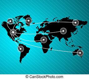 concetti, affari, meglio, globale, series., concetto