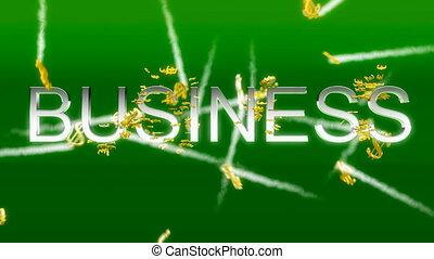 concetto affari, -, soldi fa