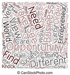 concetto, affari, testo, 1, imprenditore, wordcloud, fondo, opportunità