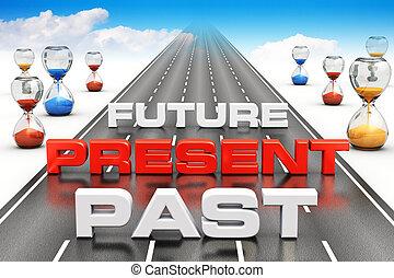 concetto, affari, visione, prospettiva