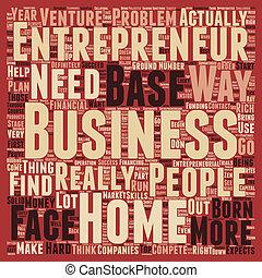 concetto, basato, affari, testo, 1, imprenditore, wordcloud, fondo, casa