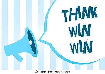 concetto, bubble., testo, concorrenza, messaggio, scrittura, altoparlante, strategia, win., modo, vincere, discorso, megafono, essere, affari blu, zebrato, significato, importante, successo, sfida, scrittura, forte, pensare