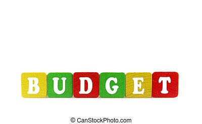 concetto, budget