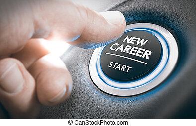 concetto, carriera, opportunità, reclutamento, o, assunzione personale