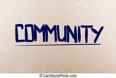 concetto, comunità
