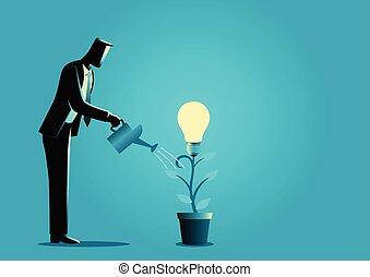concetto, creare, idea affari, creativo, idee