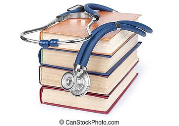 concetto, di, educazione medica, con, b