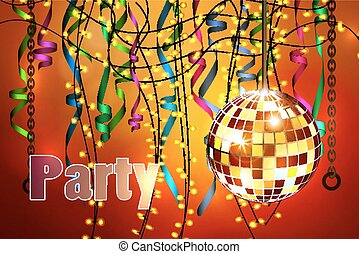 concetto, di, festa, celebrazione