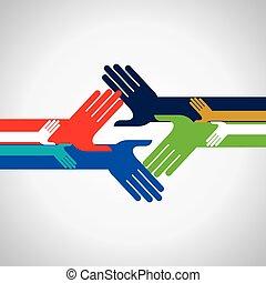 concetto, di, unità