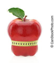 concetto, dieta, frutta