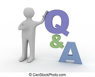 concetto, domanda, risposte