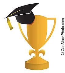 concetto, educazione, graduazione