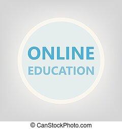 concetto, educazione, linea