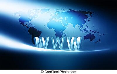concetto, internet