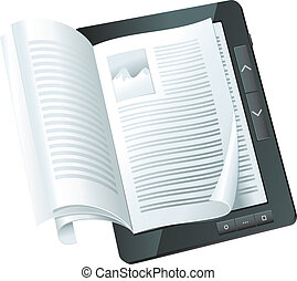concetto, libro elettronico