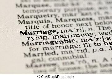concetto, matrimonio