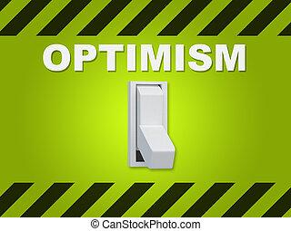 concetto, -, ottimismo, personalità