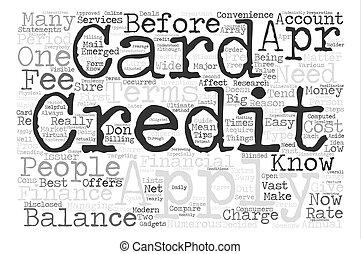 concetto, parola, testo, fondo, applyforacreditcard, nuvola