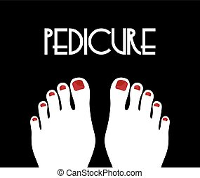 concetto, pedicure