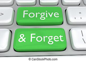 concetto, perdonare, dimenticare