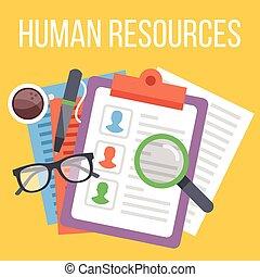 concetto, risorse umane