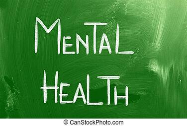concetto, salute, mentale