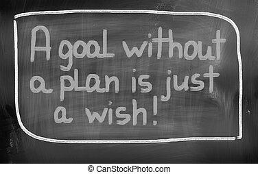 concetto, scopo, giusto, desiderio, senza, piano