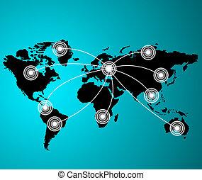 concetto, series., affari, globale, concetti, meglio