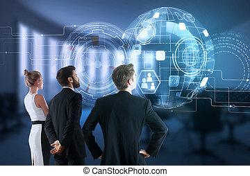 concetto, tecnologia, innovazione