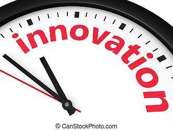 concetto, tempo, affari, innovazione